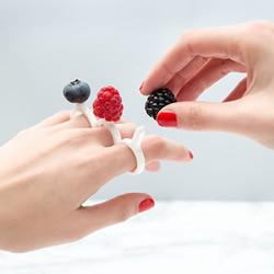 指头上的酸甜滋味 DIY激光切割美食戒指