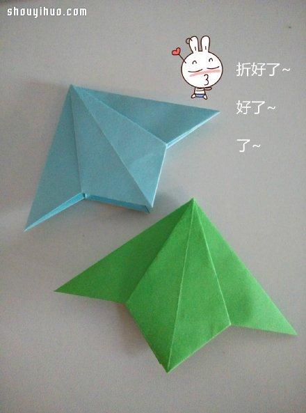 简单折纸书签的折法 书签制作方法图解教程
