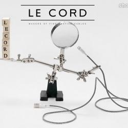 iPhone充电器救星:Le Cord软线充电器