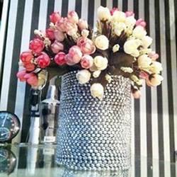 奶粉罐废物利用DIY手工制作漂亮花瓶
