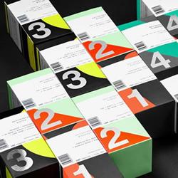 前卫新颖的包装设计 五颜六色的营养补充品