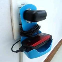 塑料瓶废物利用手工DIY好用的手机充电架