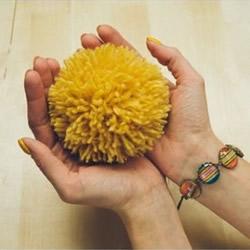 简单的毛线球制作方法详细图解教程