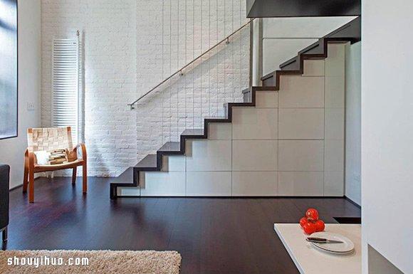 哈顿40平米 Loft 小户型公寓装修设计