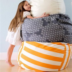 自制懒人沙发的方法 布艺懒人沙发手工制