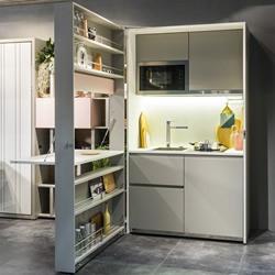 CLEI推出含床铺、厨房与收纳柜的超强家具