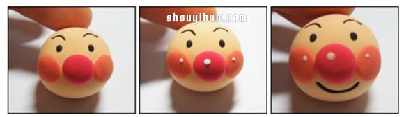 搞笑小男孩超人玩偶粘土手工制作图解教程