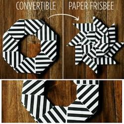 折纸飞镖的方法 手工折纸儿童玩具飞镖图解