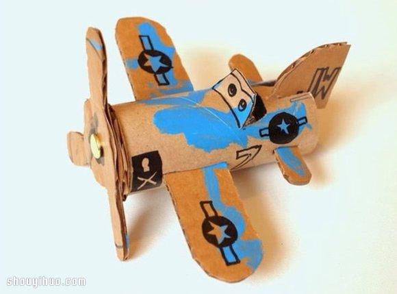 手工制作小飞机模型