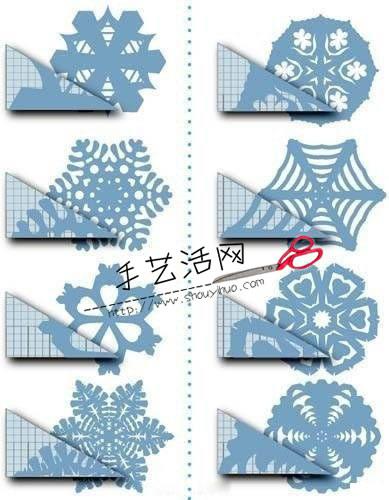 纸艺大全 剪纸教程 窗花剪纸    小手工剪窗花窗花 分享到