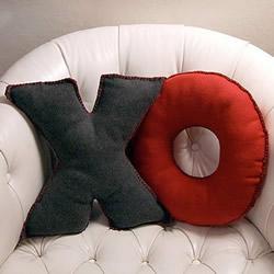 不织布字母靠枕/抱枕DIY手工制作图解教程