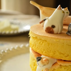 猫咪造型和果子甜点 可爱到不知如何下口!