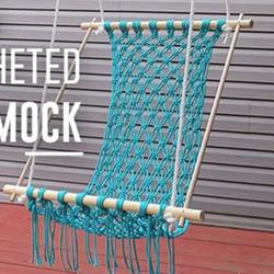 自制秋千的方法 手工编织制作舒适的秋千