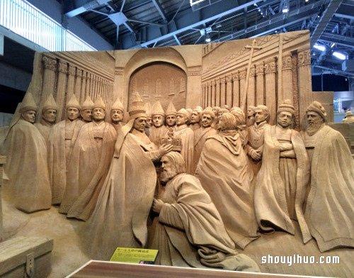 巨大沙雕近看超精细 这才叫「碉堡」 -  www.shouyihuo.com