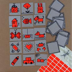 硬纸板废物利用DIY手工制作好玩的游戏卡