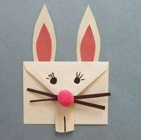 兔子信封的製作方法 兔子信封手工製作教學