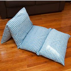 长形布艺懒人沙发DIY 可平躺也以可依靠