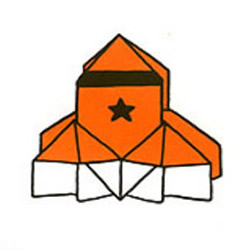 折纸航天飞机的折法图解教程