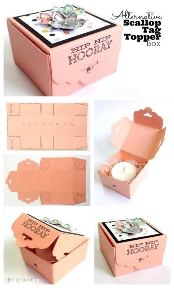 Cake Ball Favor Boxes