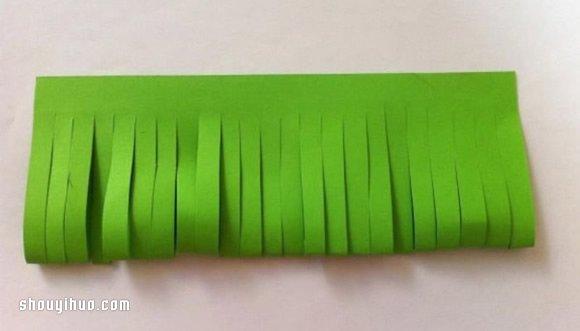兒童小手工:剪紙製作植物花草的方法步驟