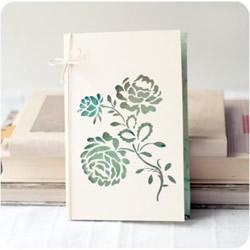 一组漂亮图案的剪纸卡片作品欣赏