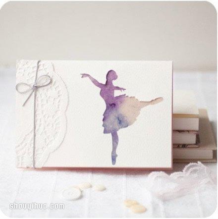 一組漂亮圖案的剪紙卡片作品欣賞