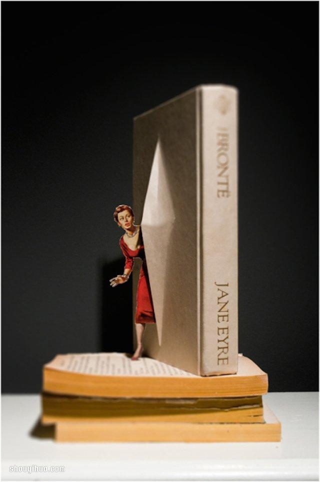 我的書…活過來了!有趣的3D剪紙書本藝術