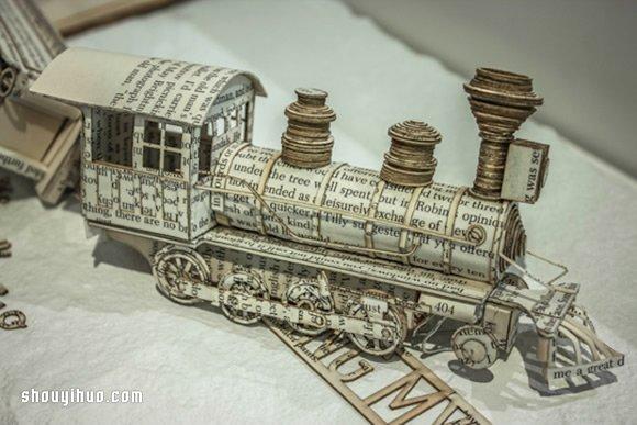 令人驚嘆的紙雕作品 童心未泯藝術家的傑作