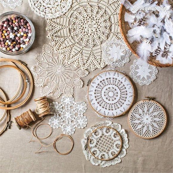 小制作 小手工 简单手工  如果你不喜欢编织缠绕的制作方法,那么可以