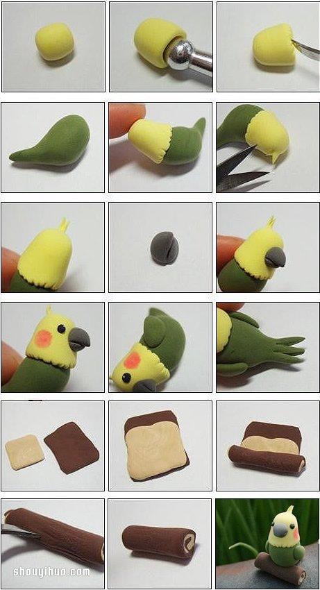 雕塑制作 粘土软陶 动物