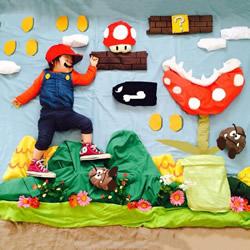 超可爱的儿童摄影,孩子从此都会期待睡觉了吧
