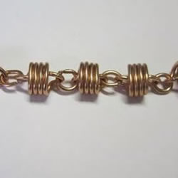 金属丝制作潮感十足漂亮手链的方法图解