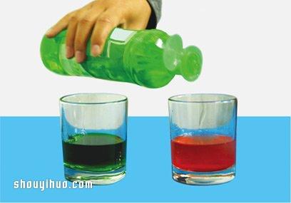 化学小履行:白醋遇上小苏打,发生泡沫大爆炸 -