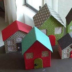 娃娃屋的制作方法 可爱小房子模型手工
