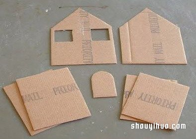 Diy - Casette di cartone da costruire ...
