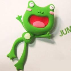 超轻粘土制作可爱小青蛙的详细图解教程