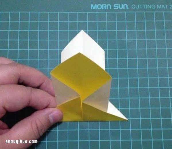 折纸灯笼制作方法图解 简单漂亮灯笼的做法教程