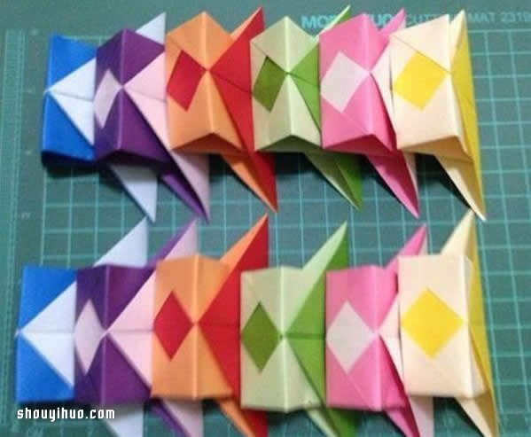 折纸灯笼制作方法图解 简单漂亮灯笼的做法教程图片