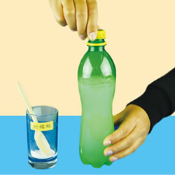 化学小实验:自制汽水的方法 原来这么简单!