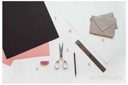 剪纸制作可爱连环小人贺卡的方法图解教程