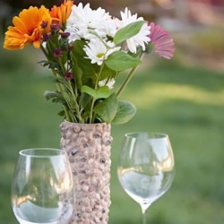 薯片筒废物利用DIY制作花瓶的方法步骤图解