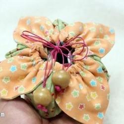 樱花包制作方法图解 手工布艺樱花包做法