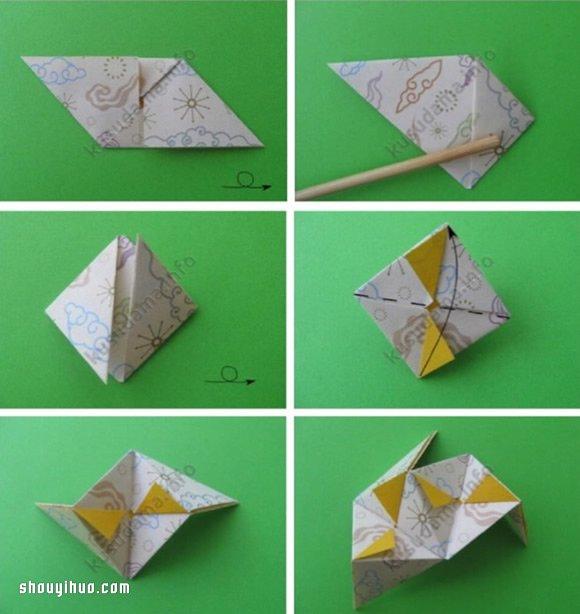 如何手工折花球的教學 折花球的方法與圖解