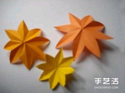漂亮纸花DIY制作教程 简易纸花的做法图解