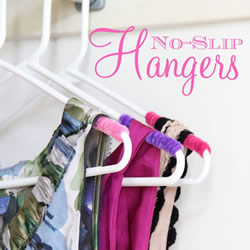 毛根简单改造旧衣架 让吊带衣服不再滑落