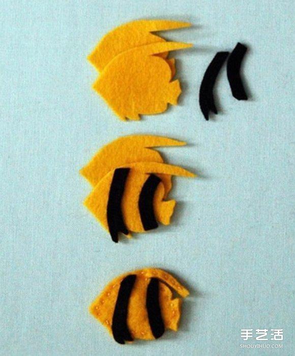 可爱又简单的布艺小动物玩具手工制作图解教程图片