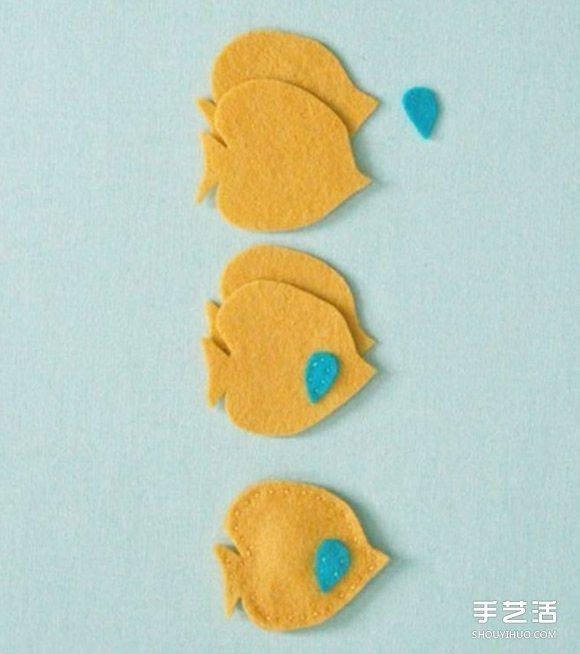 可爱又简单的布艺小动物玩具手工制作图解教程