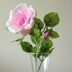 美丽宛如真花的手工折纸花朵的折法图解