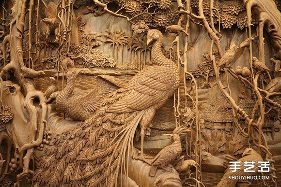中国传统东阳木雕工艺 流传千年的珍贵技艺