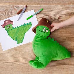 想像成真!IKEA将孩子们的画制作成毛绒玩
